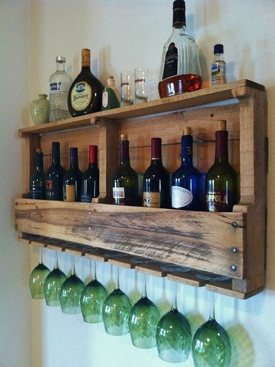 Attached To The Wall Bar Design