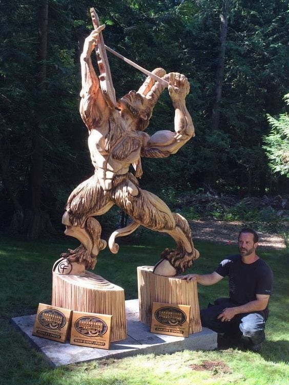 Chris Foltz World Champion Of Wood And Ice Power Sculpting