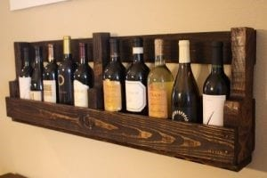 Diy Vintage Pallet Wine Rack