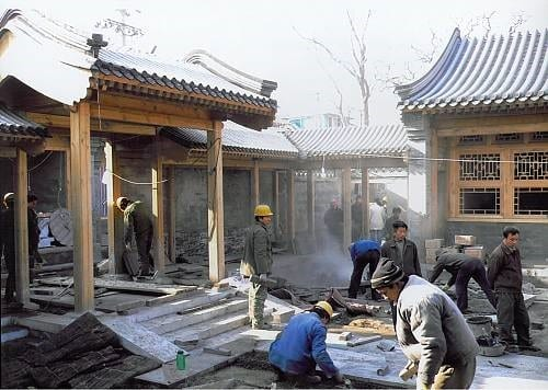 Foundation Platforms In Traditional Chinese Wooden Architecture
