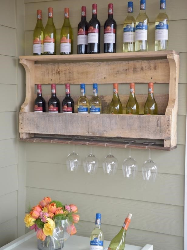 Hgtv Wooden Pallet Rack