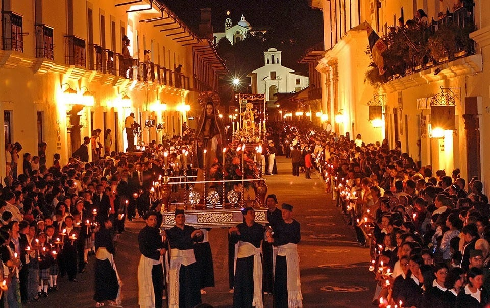 Looking Closer Into The Holy Week Processions In Popayán