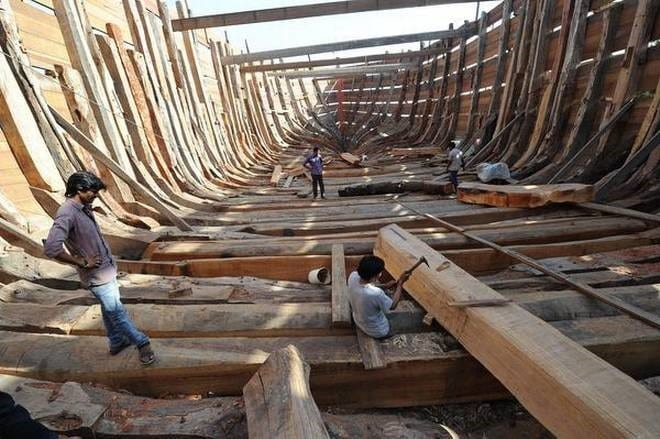 Mandvi's Have A 400 Year Old Tradition Of Dhow Making