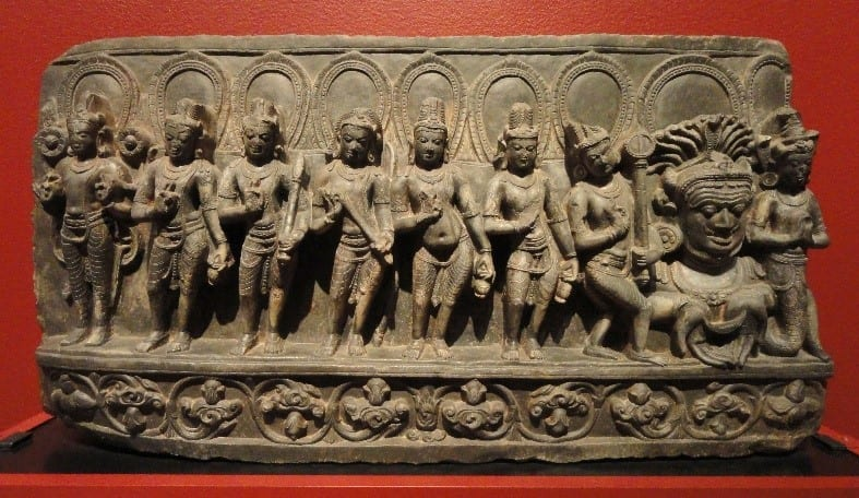 Navagraha Sculpture Dating Back To The 10Th Century Ad