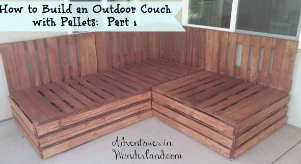 23 Pallet Couch Diy Plans Cut The Wood