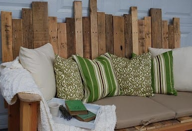 Outdoor Pallet Sofa By Ironstone Nest