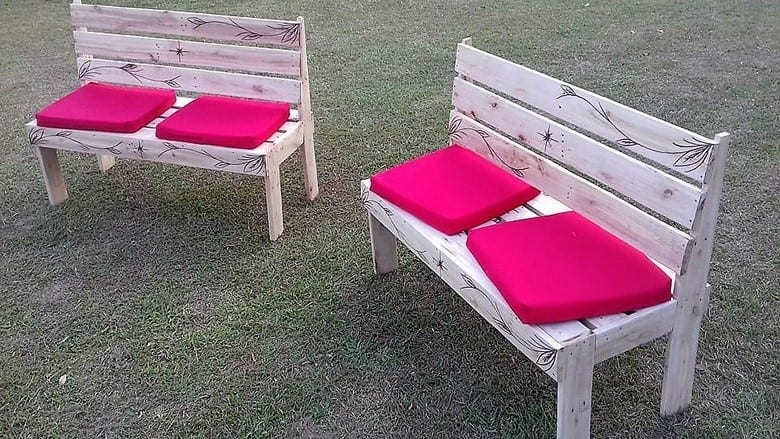 Outdoor Partner Benches