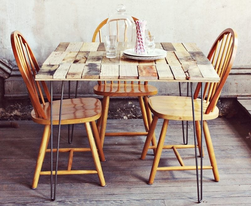 Pallet Dining Table 2