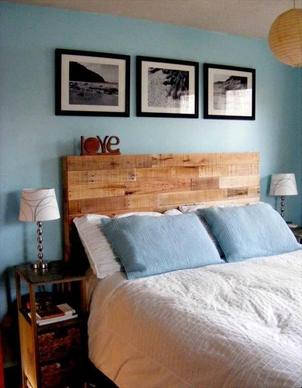 Pallet Headboard Made With Love