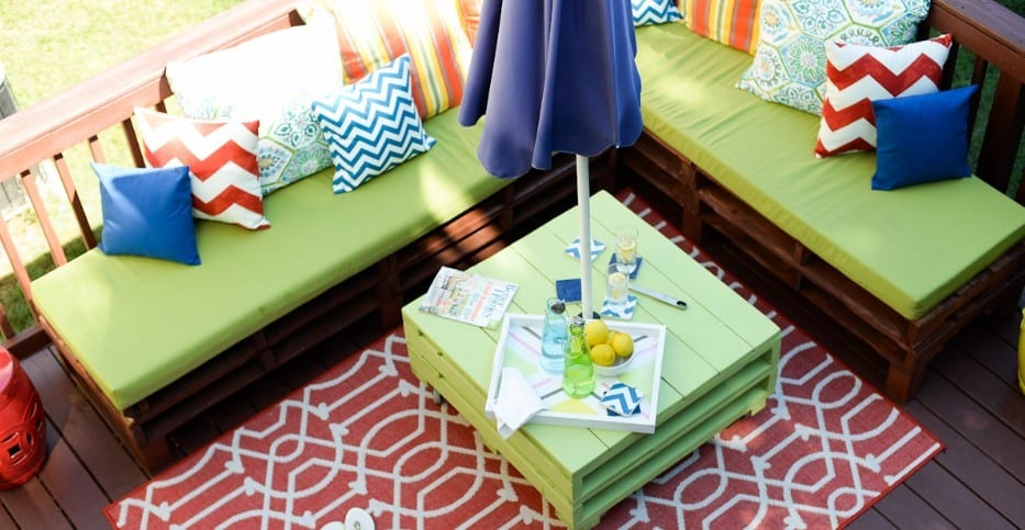 Pallet Patio Sofa Furniture By Place Of My Taste