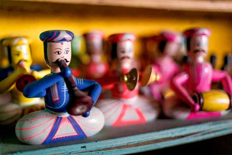 Reviving The Ancient Craft Of Making Wooden Lacquer Toys In India