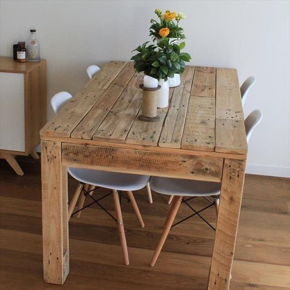 Rustic Pallet Table