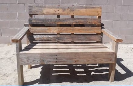 Simple Pallet Bench