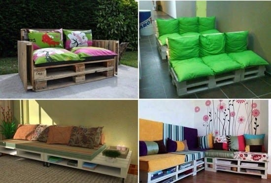 Sit And Relax Pallet Sofa And Lounge Chairs