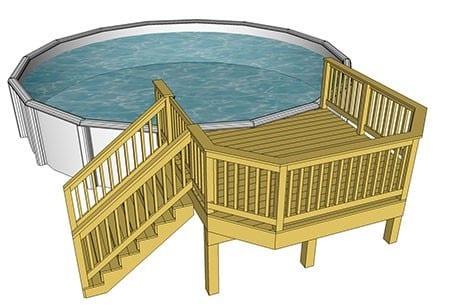 Small Pool Deck