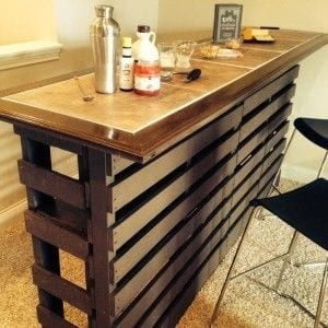 Smart And Classy Pallet Bar