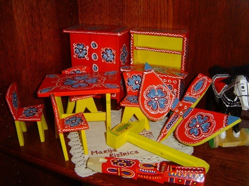 Steps Of Crafting Traditional Children's Wooden Toys In Hrvatsko Zagorje