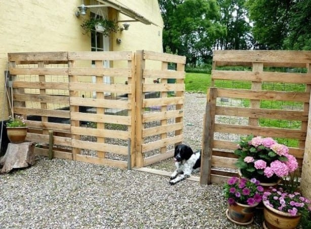 The 0 Pallet Fence