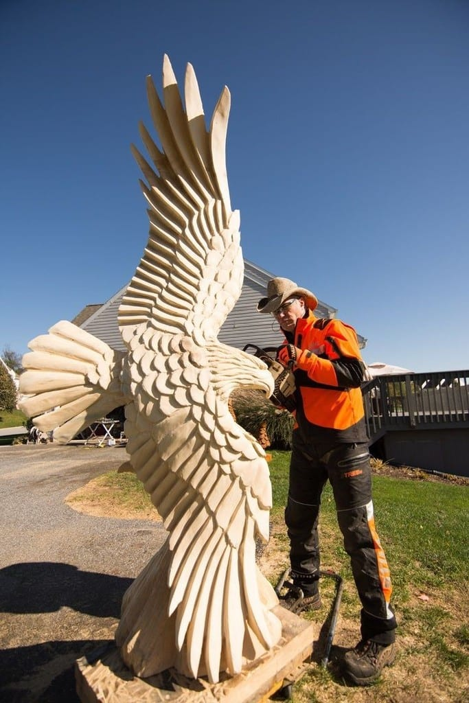 The Art Of Chainsaw Carving