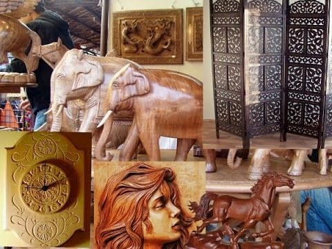 The Art Of Woodworking In India
