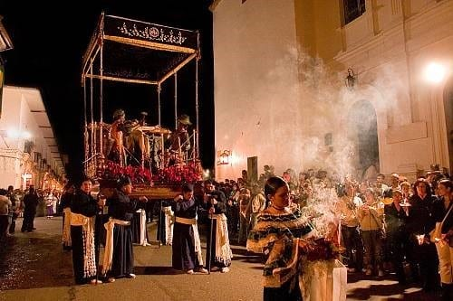 The Holy Week Processions In Popayán