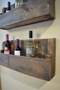 The Quick And Practically Free Pallet Wine Rack