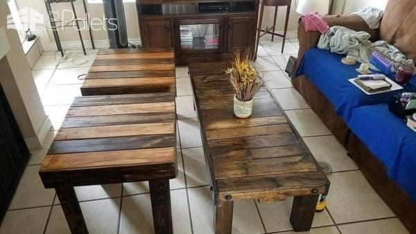 Three Pallet Tables For Any Room Of The House