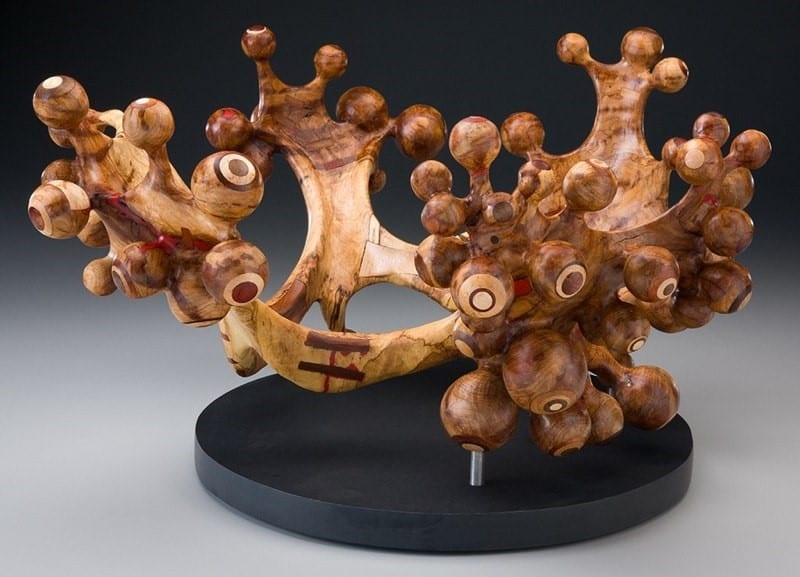 Tim Byrns' Wood Sculptures Artwork With A Tribute To Mother Nature