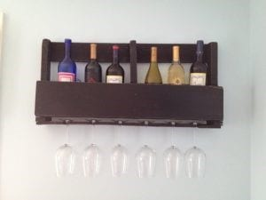 Twine And Vines Pallet Wine Rack