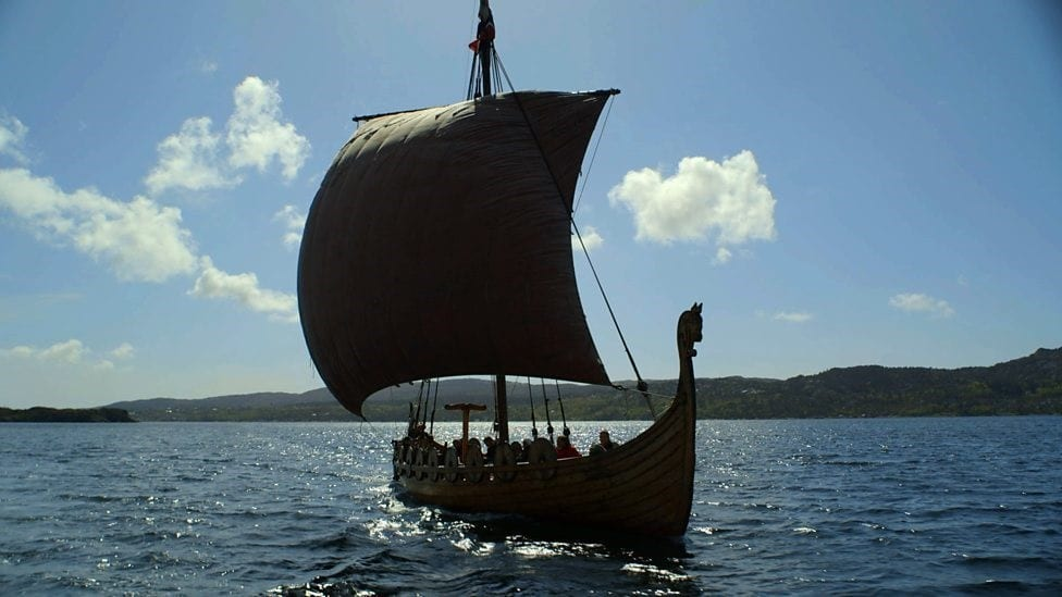 Vikings Used To Perform Boat Funerals