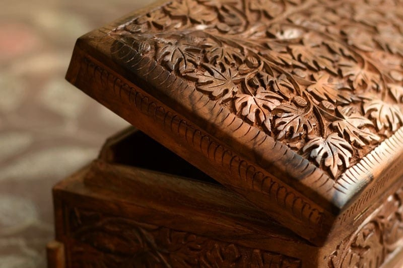 Walnut Trees Used In The Ancient Craft Of Kashmir Wood Carving
