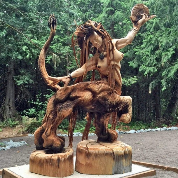 What Does It Take To Become A Chainsaw Carving Artist