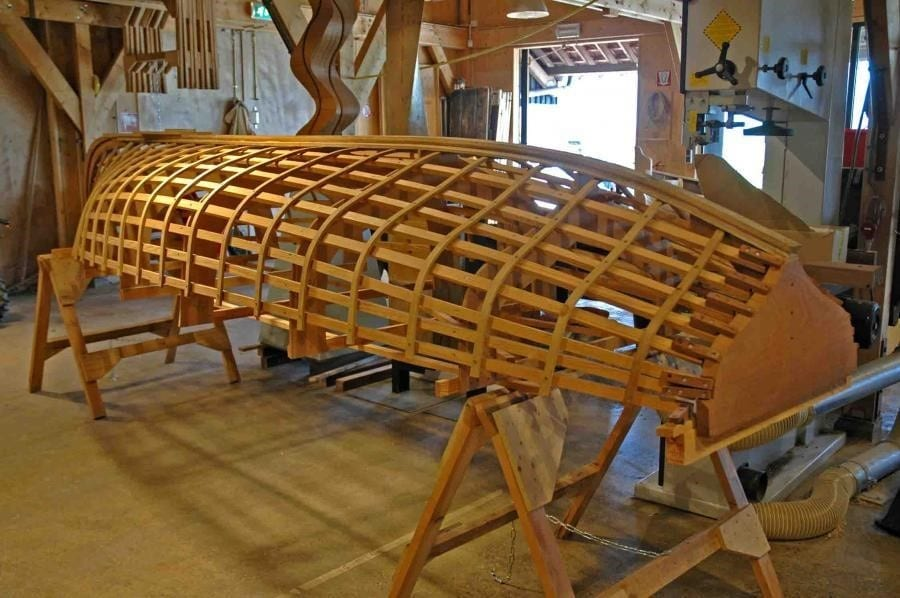 What Are Some Types Of Wood Construction Used In Boat Building