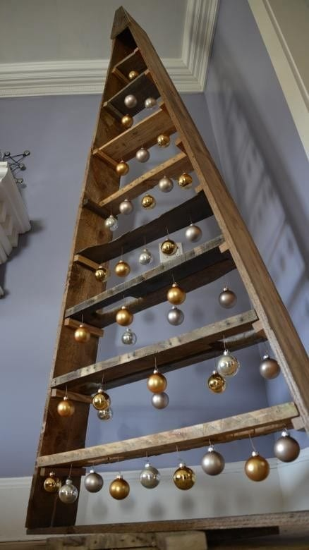 Wooden Pallet Christmas Tree 1