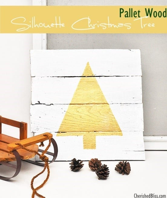 Wooden Pallet Christmas Tree 6