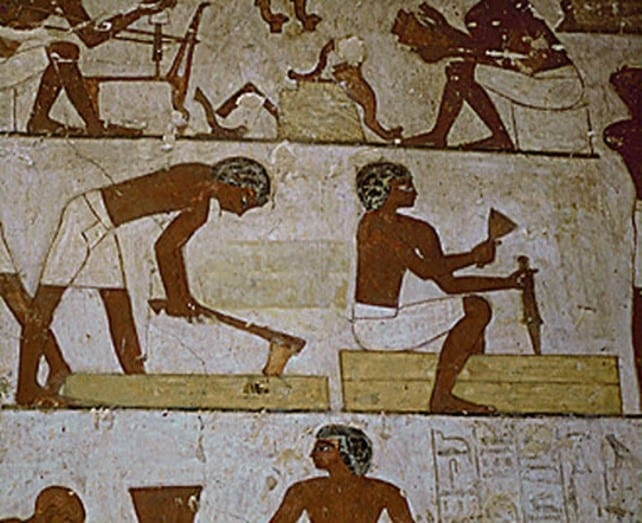Woodworking Techniques Of Ancient Egyptians