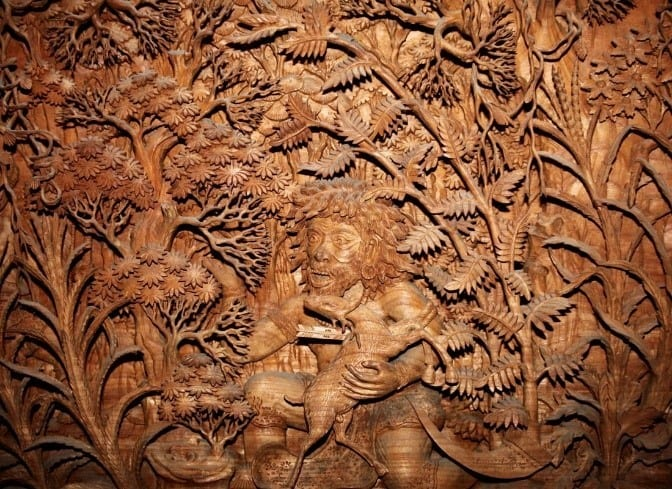 Iranian Detailed Delicate Wood Carvings 1