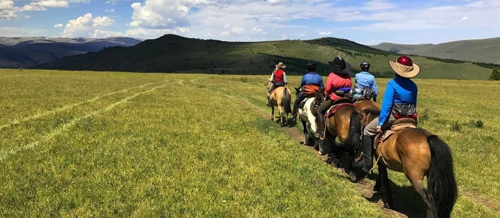 Steppes And Plains Of Mongolia