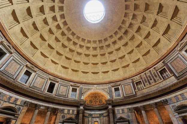 Stunning Woodworking Pieces Inside The Pantheon