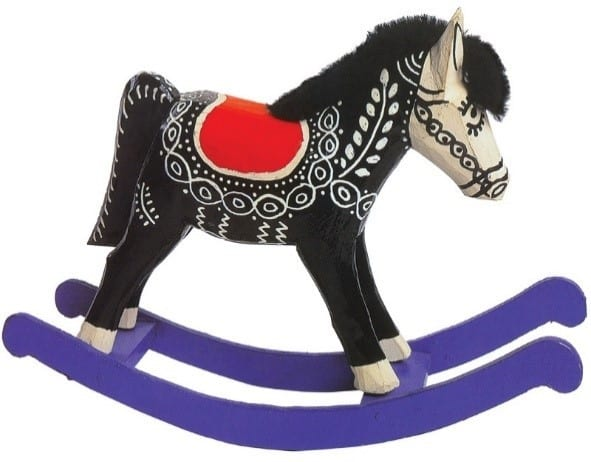 Wooden Toys Jumping Horse