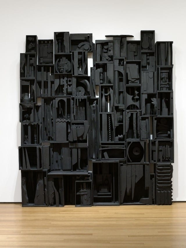 """""""Sky Cathedral"""" By Louise Nevelson 1958"""