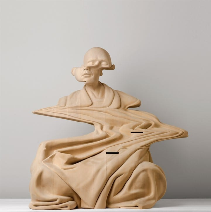 Contemporary Wood Carving By Australian Artist Paul Kaptein