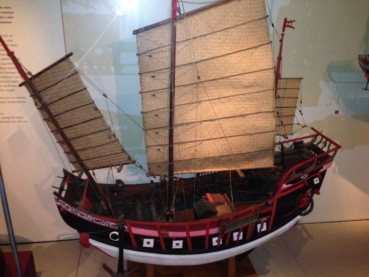 The Graceful And Smart Structure Of Fujian Built Ships