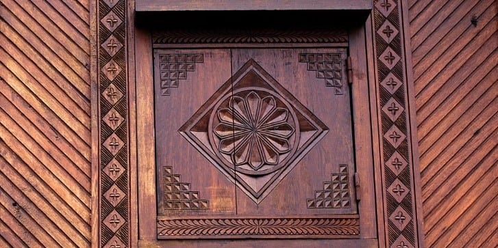 Traditional Zafimaniry Carvings In The City Of Ambositra
