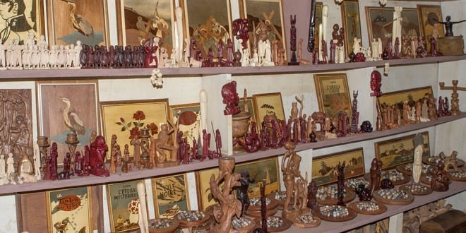 Various Carved Objects Are Usually Sold To Third Party Retailers